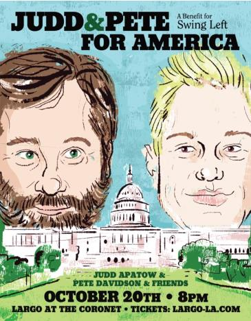 Judd & Pete For America - A Benefit for Swing Left: Main Image