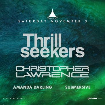 Thrillseekers, Christopher Lawrence: Main Image