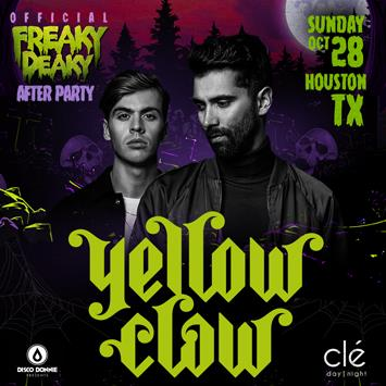 Yellow Claw : FD After Party - HOUSTON: Main Image