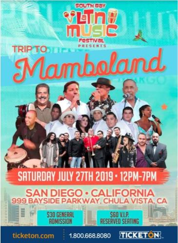 SOUTH BAY LATIN MUSIC FESTIVAL: Main Image