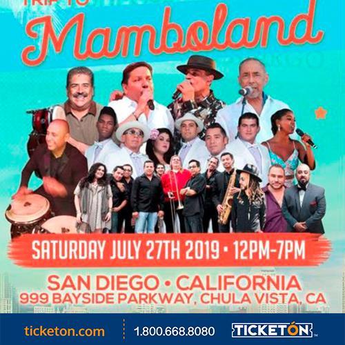 Latin Music Festival Chula Vista Ticket Boleto Bayside Park