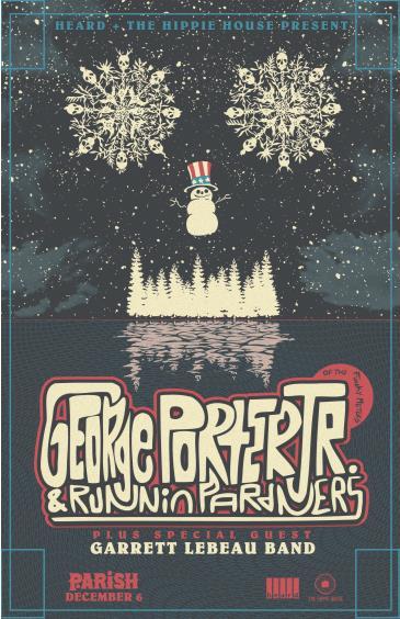 George Porter Jr. & The Runnin' Pardners + Garrett Lebeau: Main Image