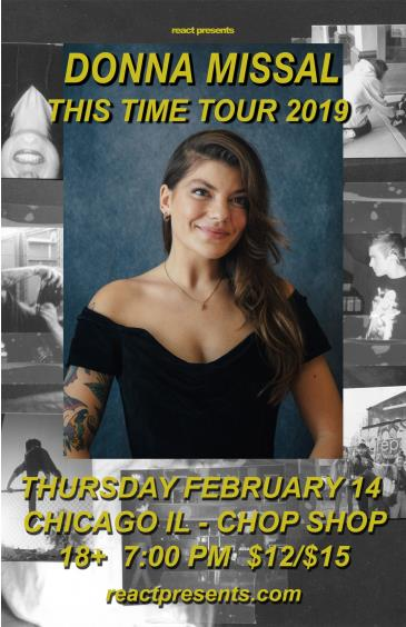 Donna Missal 'This Time' Tour: Main Image