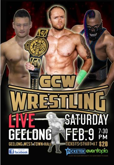 GCW WRESTLING - GEELONG: Main Image
