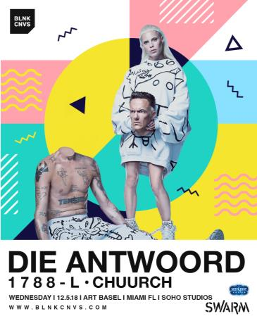 DIE ANTWOORD at Soho Studios: Main Image