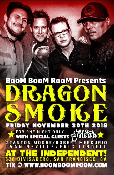 DRAGON SMOKE at The Independent (+ El Metate, DJ Kevvy Kev): Main Image