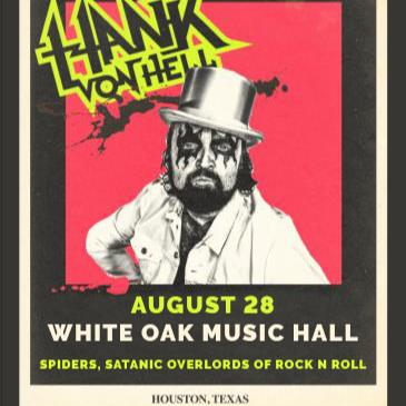 Hank Von Hell, SPIDERS, Satanic Overlords Of Rock n Roll-img
