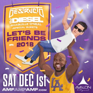 AMFAMFAMF presents Destructo & DJ Diesel (Shaquille O'Neal): Main Image