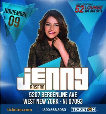 JENNY ROSERO: Main Image
