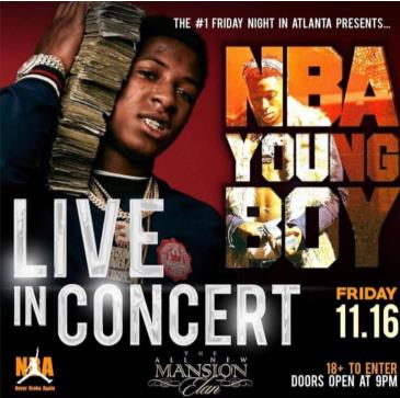 NBA YoungBoy Performing LIVE: Main Image