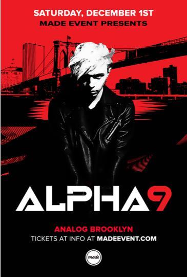 Arty aka Alpha9 at Analog BKNY: Main Image