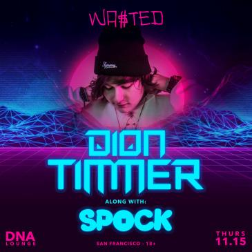 Dion Timmer w/ Spock-img