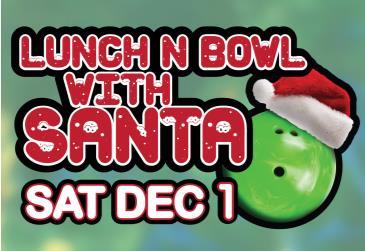 Kingpin Cambridge Lunch & Bowl With Santa: Main Image
