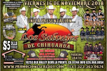 LOS SALVAJES DE CHIHUAHUA: Main Image