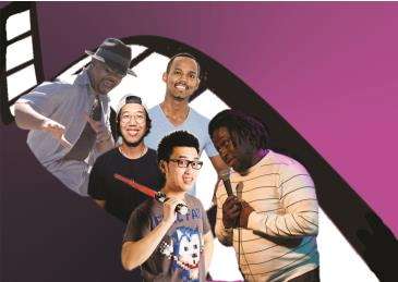 A African American & Asian Stand Up Comedy Tour: Main Image