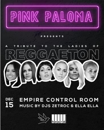 Pink Paloma: The Ladies of Reggaeton: Main Image