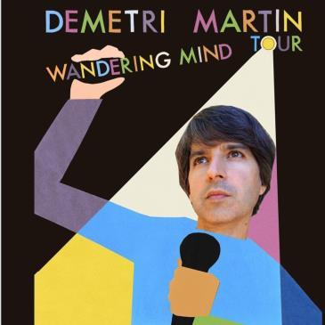 "Demetri Martin ""Wandering Mind Tour"" - LATE SHOW: Main Image"