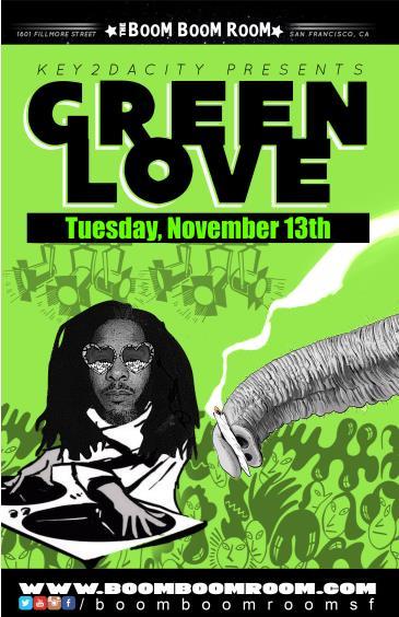 DJ Green-Love (soul, Pop, Funk, Hip Hop, Mashups) Freee Show: Main Image