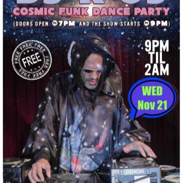 DJ K-OS Cosmic Funk Disco Dance Party  (Free Show)-img