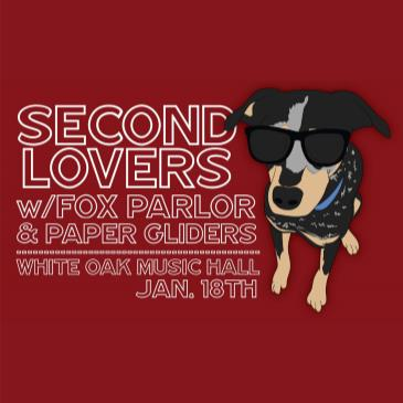 Second Lovers, Paper Gliders, Fox Parlor-img