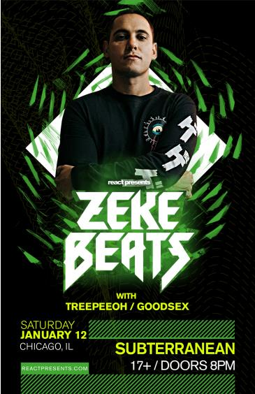 Zeke Beats (TICKETS AVAILABLE AT THE DOOR): Main Image