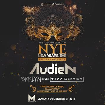 New Years Eve Extravaganza Ft. Audien - NEW ORLEANS: Main Image