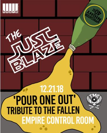 The Just Blaze 'Pour One Out' Tribute to The Fallen: Main Image