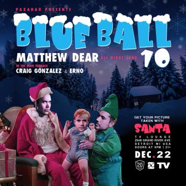 Paxahau presents Blue Ball 10: Main Image
