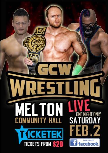 GCW WRESTLING - MELTON: Main Image