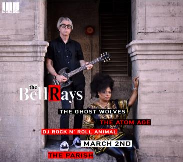 The BellRays w/ The Atom Age, The Ghost Wolves & More: Main Image