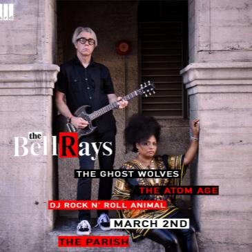 The BellRays w/ The Ghost Wolves, The Atom Age-img