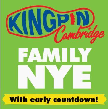 Kingpin Cambridge New Years Eve 2019: Main Image