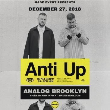 Anti Up [Chris Lake & Chris Lorenzo] at Analog BKNY: Main Image