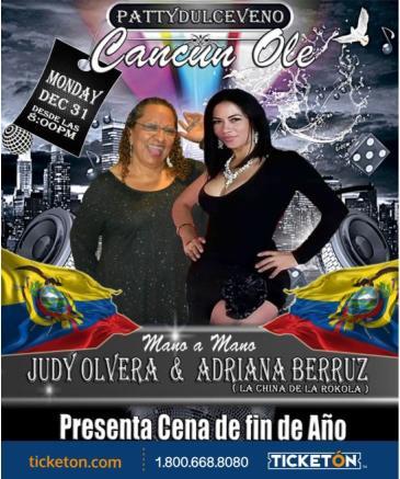 JUDY OLVERA Y ADRIANA BERRUZ: Main Image