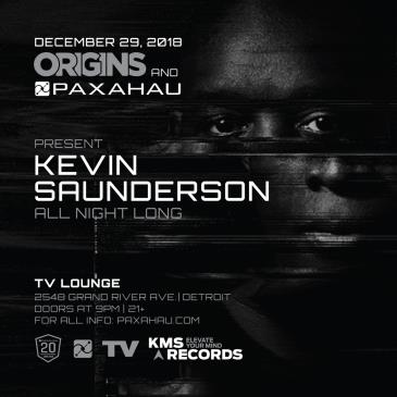 Origins and Paxahau Present: Kevin Saunderson All Night Long: Main Image