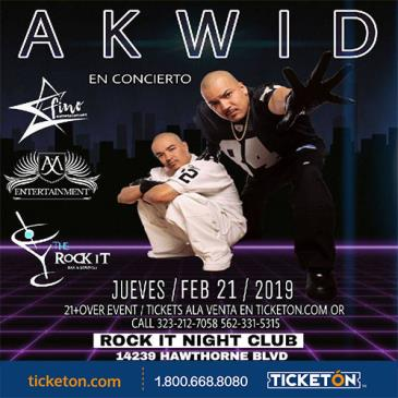 AKWID LIVE: Main Image