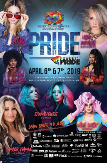 Phoenix Pride 2019: Main Image