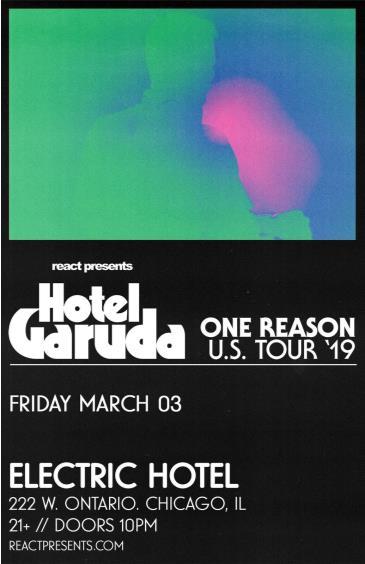 Hotel Garuda: One Reason Tour: Main Image