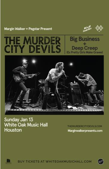 The Murder City Devils, Big Business, Deep Creep: Main Image