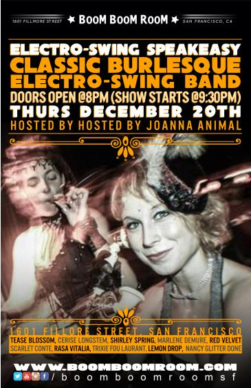Burlesque Electro Swing Speakeasy (Bands Bourbon Burlesque): Main Image