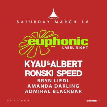 Euphonic Night: Kyau & Albert, Ronski Speed-img