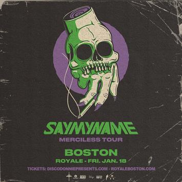 SAYMYNAME - BOSTON: Main Image