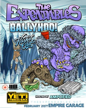 The Expendables Winter Blackout Tour w/ Ballyhoo!: Main Image