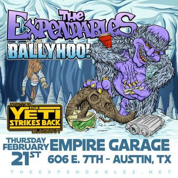 The Expendables Winter Blackout Tour w/ Ballyhoo!: Main Image