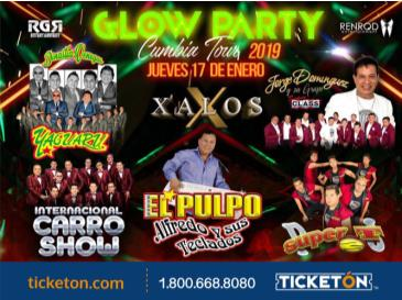 GLOW PARTY CUMBIA  TOUR: Main Image