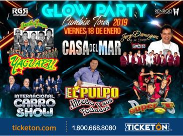 GLOW PARTY CUMBIA TOUR EN SANTA ROSA: Main Image