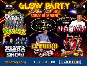GLOW PARTY CUMBIA TOUR IN OXNARD: Main Image