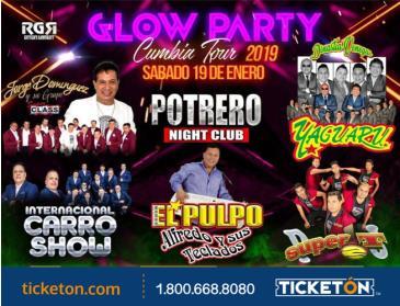 GLOW PARTY CUMBIA TOUR EN LOS ANGELES: Main Image