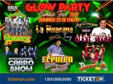 GLOW PARTY CUMBIA TOUR IN TRACY: Main Image