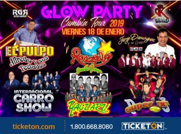 GLOW PARTY CUMBIA TOUR 2019: Main Image
